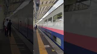 E4系Max高崎駅発車