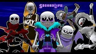 ЛАСТ САНС, СВАПФЕЛЛЫ, КРОСС И ИНК ПОПАДАЮТ В МИР VOIDTALE! | Undertale: Second Life