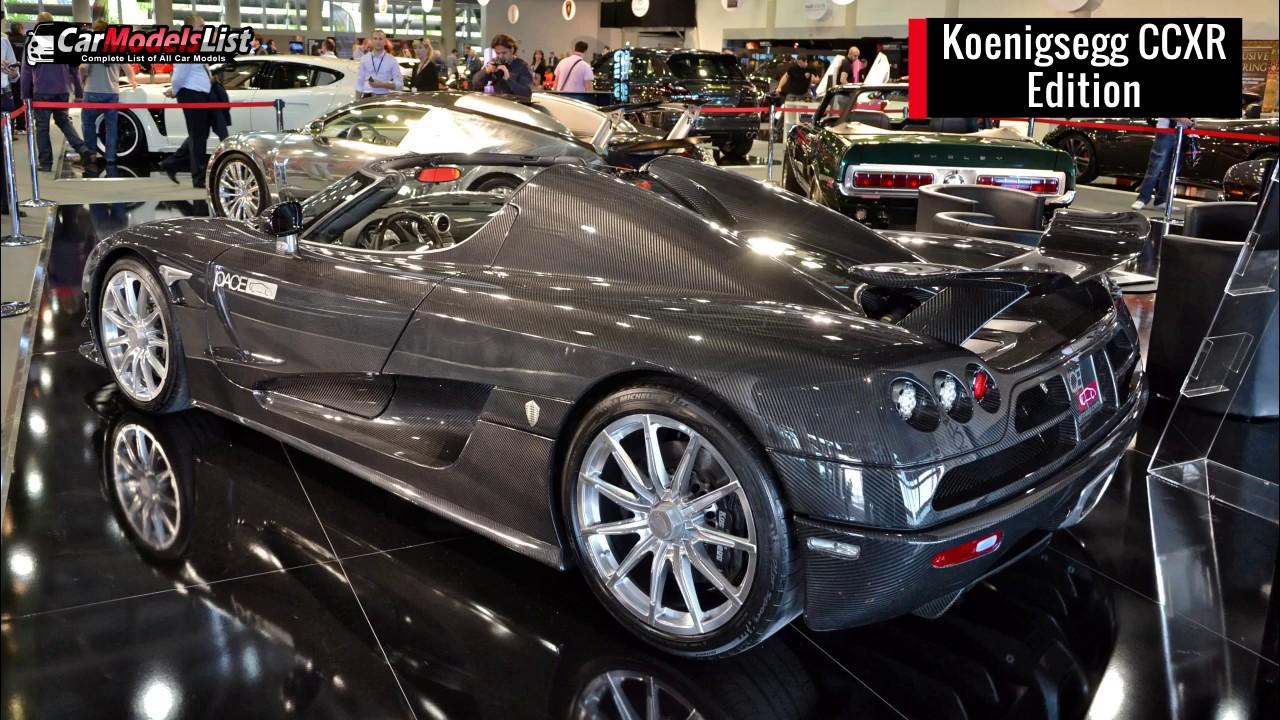 All Koenigsegg Models  Full list of Koenigsegg Car Models  Vehicles  YouTube