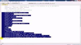 Fortran : Eléments du langage Fortran, structure d