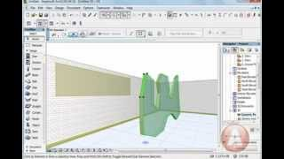 Урок Archicad Инструмент MORPH archicad16