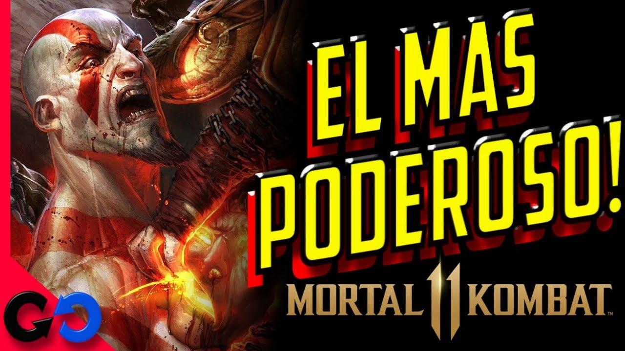 Mortal Kombat 11 Quien es el mas FUERTE de los INVITADOS?