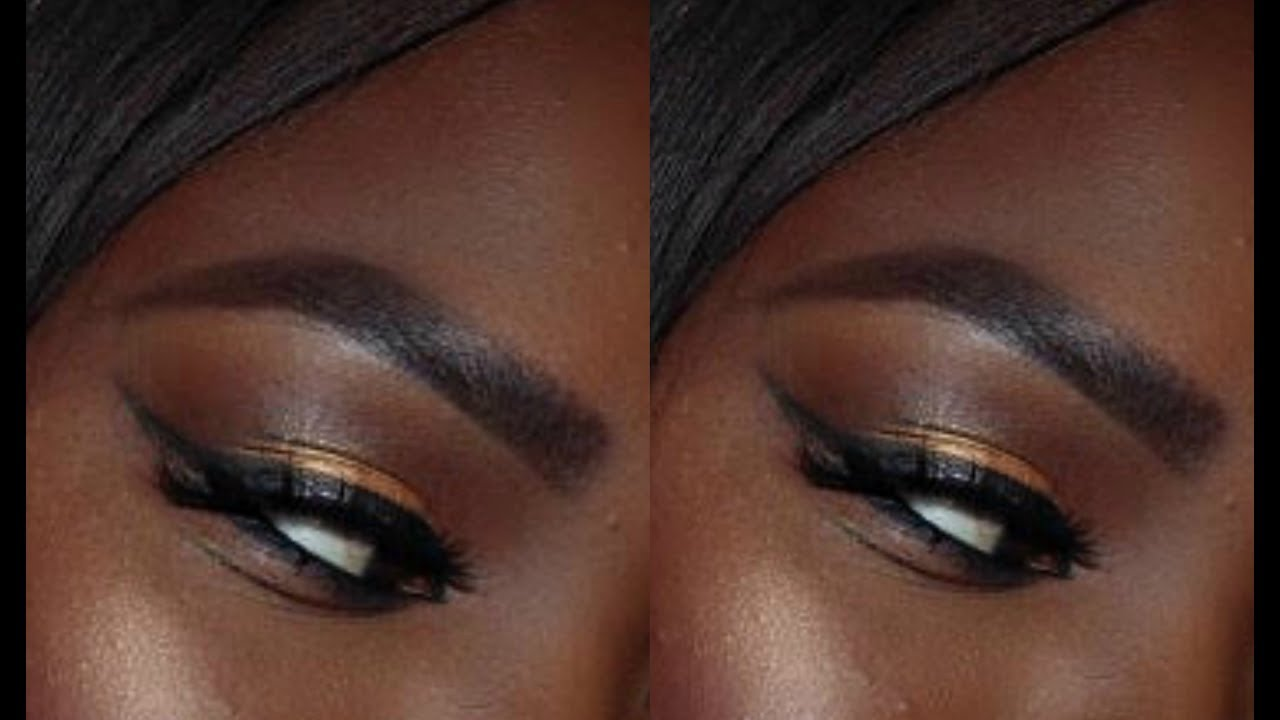 How I Tattoo My Brows With Henna Darkskin Destiny Matuet Youtube