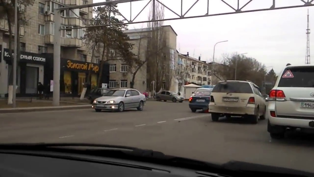 Павлодар 2017.Авария 06 04 17.