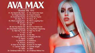 A V A M A X GREATEST HITS FULL ALBUM - BEST SONGS OF A V A M A X PLAYLIST 2021