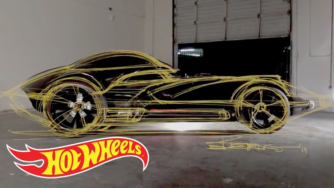 The Making Of Darth Car Hot Wheels Garage By Hotwheels Vw Drag Bus Mnm Rare