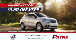 $9,257 off MSRP on 2016 Buick Encore | Payne Buick GMC | Weslaco, Texas