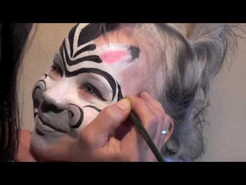 Kinderschminken Zebra Basteln Mit Kindern Schminkspass Fur Kids