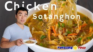 How to Cook Chicken Sotanghon Soup