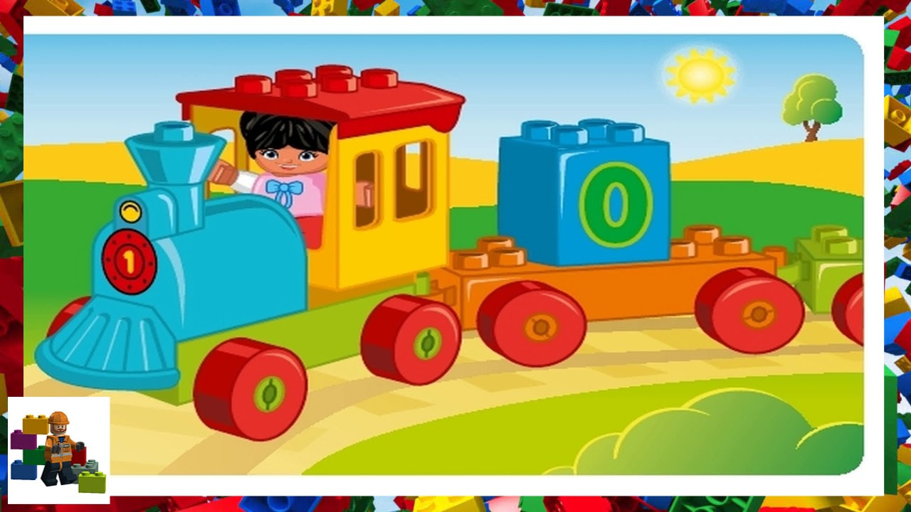 Lego Instructions Duplo 10847 My First Number Train Youtube