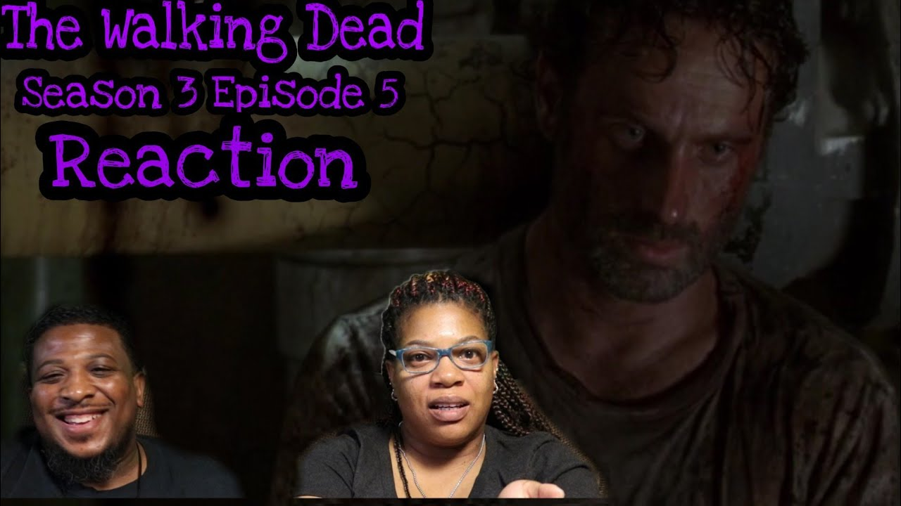 """Download The Walking Dead   REACTION - Season 3 Episode 5 - """"Say The Word"""""""