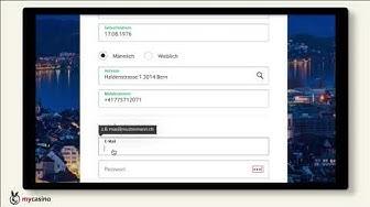 mycasino.ch – Registrierung & Willkommensbonus erklärt | Online-Casino mit bis zu CHF 300 Bonus