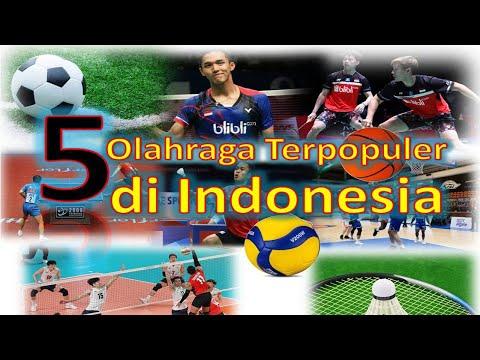 5 Olah Raga Terpopuler di Indonesia