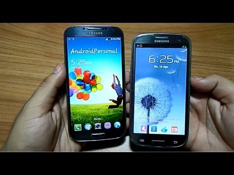 Galaxy S4 LTE vs Galaxy S3 LTE - La Batalla Final !!// Tu Android Personal
