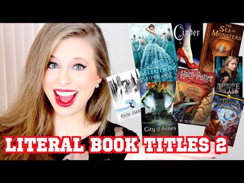 LITERAL BOOK TITLES 2