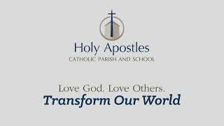 Holy Apostles Parish New Berlin:  Lent V Sunday Mass March 21 2021  9:15 AM
