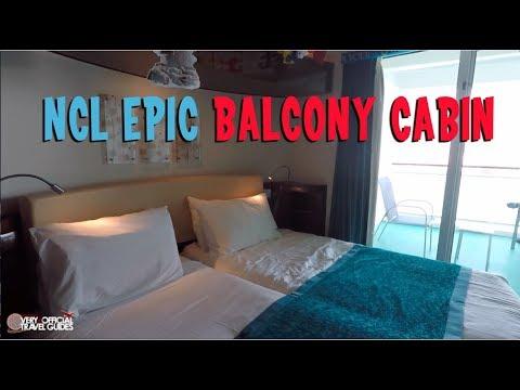 Cruise Cabin Tour Ncl Epic Balcony Cabin