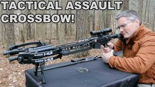 Repeat youtube video Tactical Assault Crossbow! PSE TAC15 Upper for the AR15
