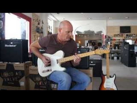 Levinson Blade Guitars checked out by Geoff Sinker