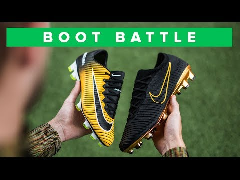 902df11c4fe1 Nike Mercurial Vapor 11 vs Nike Flyknit Ultra boot battle - which football  boot is the best of the two fast Nike Mercurial football boots
