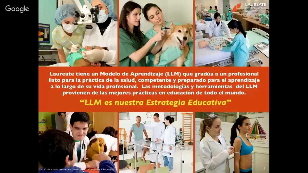 Laureate Webinar Series - Nivel Introductorio  The Laureate Learning Model  for Health Science 7d8be0a72e