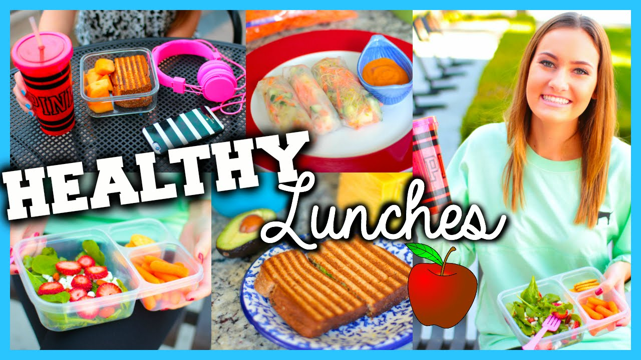 healthy easy lunch ideas for school youtube