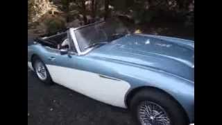 Austin Healey 3000 MK111 1968 - Cold Start-up