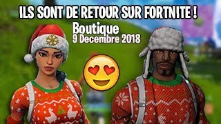 NOEL SKIN ARE RETOURS! (Soldier Laineux - Polar Hunter) Fortnite