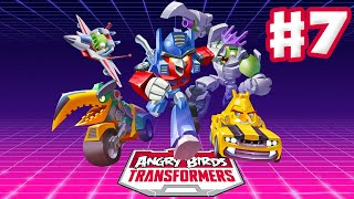 Angry Birds Transformers - Gameplay Walkthrough Part 7 - Soundblaster Rescue! (iOS)