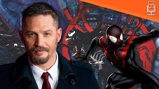 Tom Hardy's VENOM to Appear in Miles Morales Spider-Man Into the Spider-Verse Film