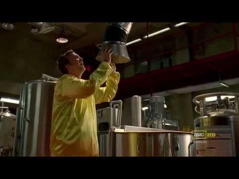 Jesse Pinkman in the Meth Lab