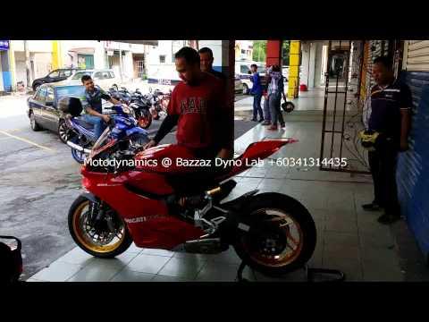 Ducati Panigale 899 Test Termignoni Exhaust - Motodynamics Technology Malaysia