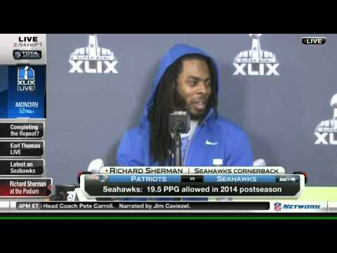 Richard Sherman rips Goodell, Kraft