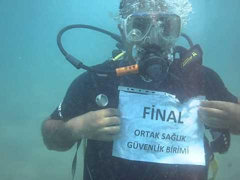 Final OSGB Su Altı Çalışmaları