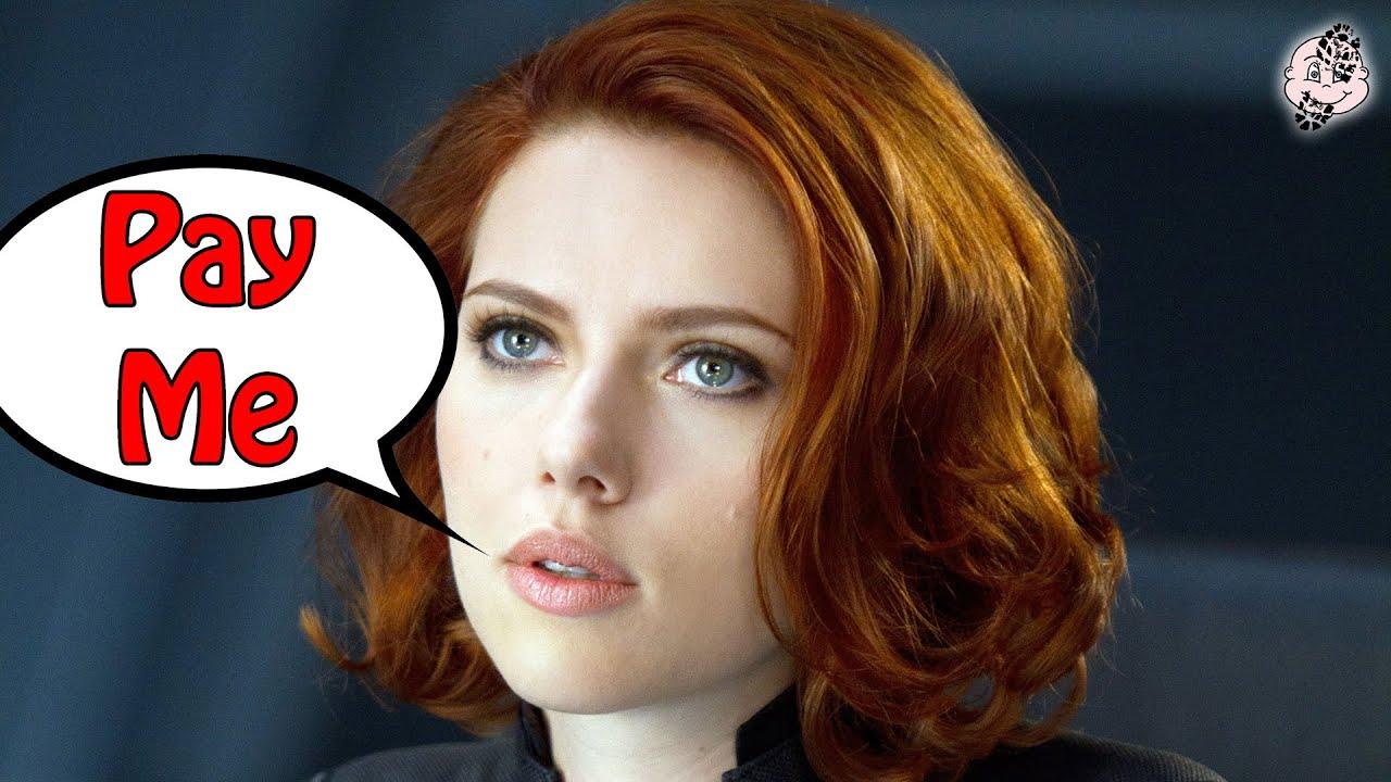 PAY ME!! Scarlett Johansson SUES DISNEY Over BLACK WIDOW Box Office!!