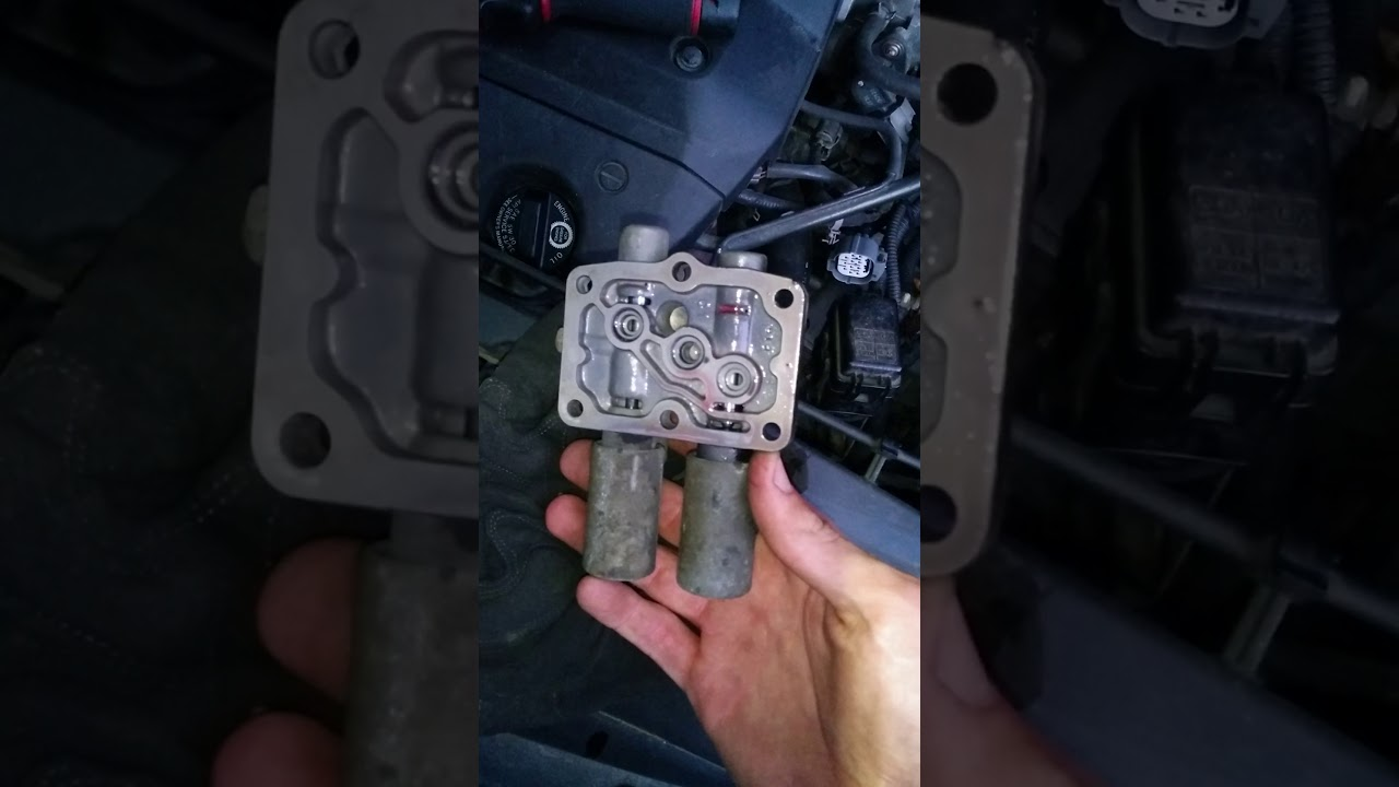 small resolution of 2000 honda odyssey transmission fix at clutch pressure control solenoid removal