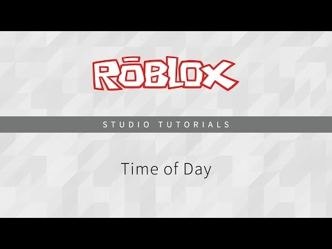 roblox how to make day cycle