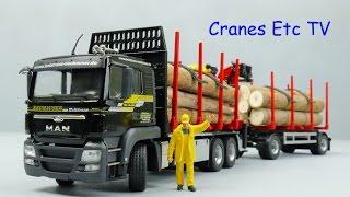 Conrad MAN TGS Doll Log Carrier