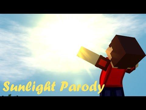 ♪Sunlight parody of Sunlight by Modestep (Minecraft animation) ♪