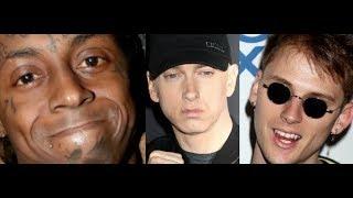 Lil Wayne CARTER V makes billboard HISTORY, MGK Thinks He Won The Beef with Eminem after 21k Sales?