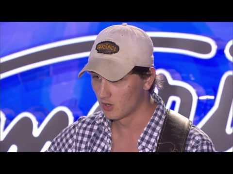 Josiah Siska American Idol Audition Sneak Peak-Johnny Cash Song