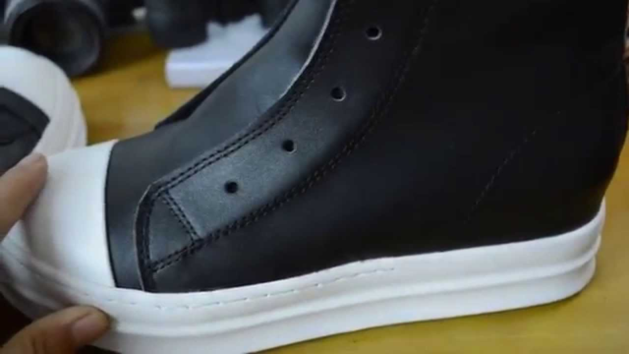 best website 43467 808f8 Rick Owens x Adidas Collaborated Shoes   Rick Owens Adidas - YouTube