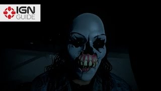 Until Dawn - Mystery Man Clue Locations