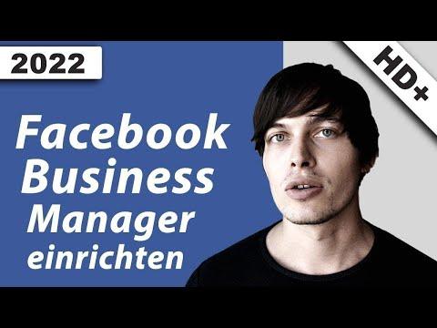 Facebook Business Manager einrichten: Schritt für Schritt - YouTube