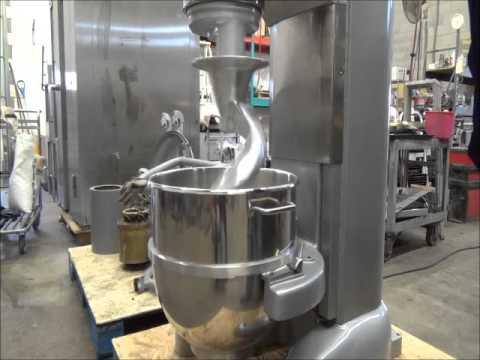 Hobart M802 80 Qt Bakery Dough Mixer Beater Youtube