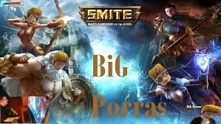 SMITE BETA Xbox ONE ¡60fps · ESTRENO con WEBCAM! Gameplay Full|HD|