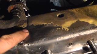 видео Лонжерон автомобиля - что это такое, где находится в машине, как вытянуть, ремонт