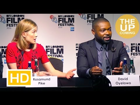London Film Festival 2016: A United Kingdom press conference with Rosamund Pike, David Oyelowo, cast