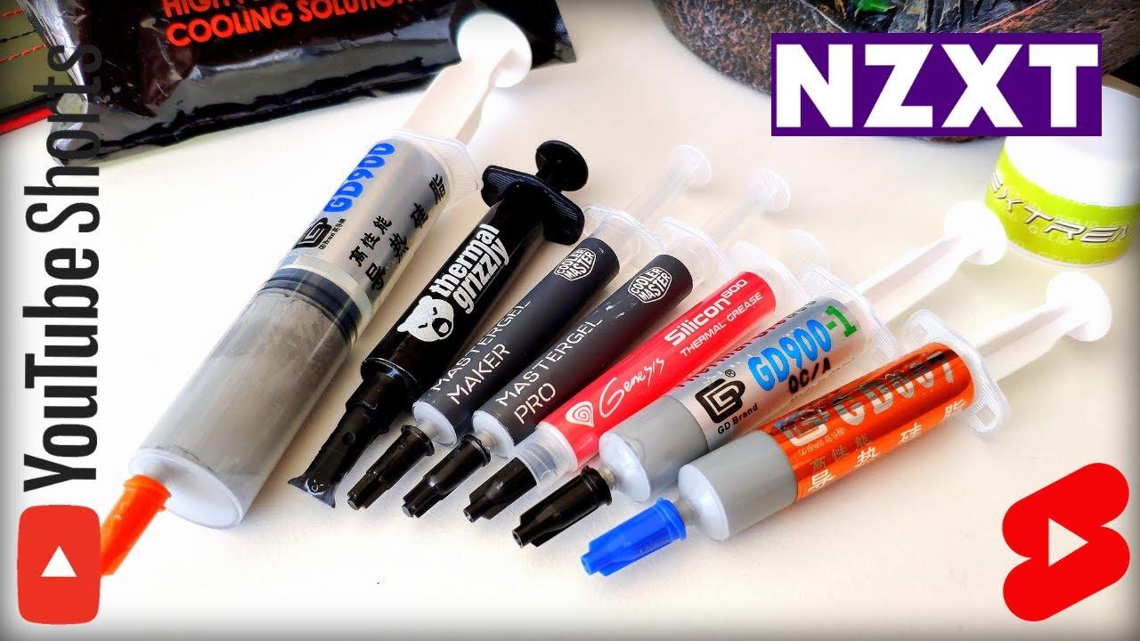 Wtopa w trakcie testowania past termoprzewodzących i pomoc ze strony NZXT #shorts