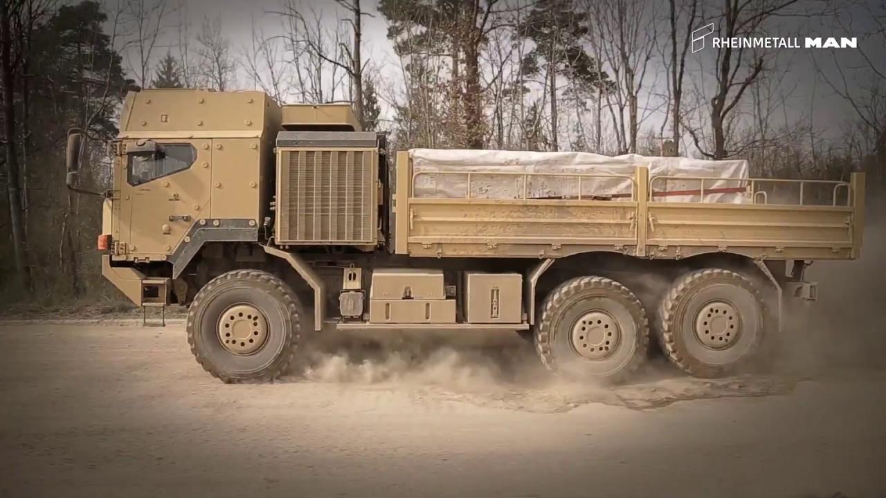 Download Rheinmetall – Komplettanbieter für logistische und taktische Militärradfahrzeuge